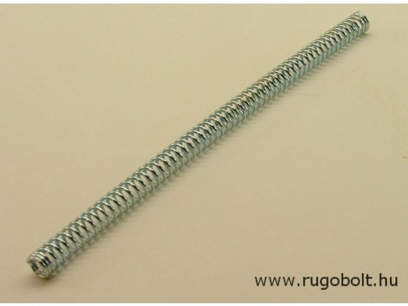 Nyomórugó - 1,2x9,0x185 mm - menetszám: 2+57+2 - horganyzott