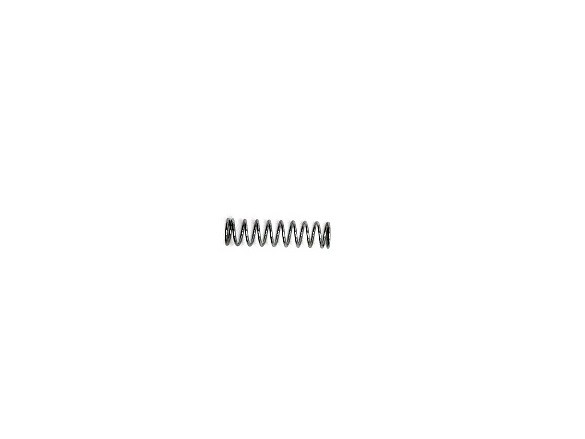 Nyomórugó (NY009) - 1,2x12x45 mm - menetszám: 1+8+1 - horganyzott