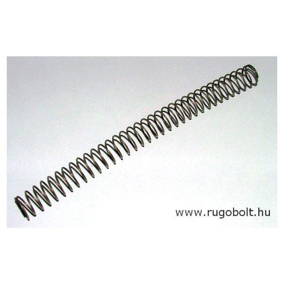 Nyomórugó - 1,2x16x190 mm - menetszám: 1+33+1 - natúr