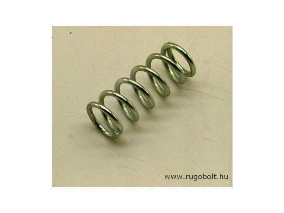 Nyomórugó - 1,3x10x26 mm - menetszám: 1+4,5+1 - horganyzott