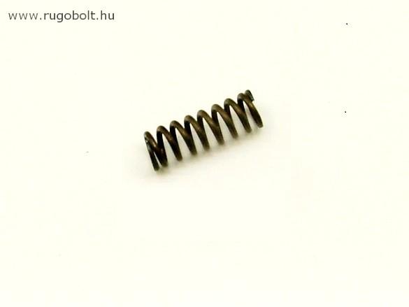 Nyomórugó - 1,4x9,0x26 mm - menetszám: 1+7+1 - natúr