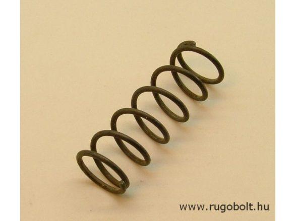 Nyomórugó - 1,4x14,3x43 mm - menetszám: 1+5+1 - natúr