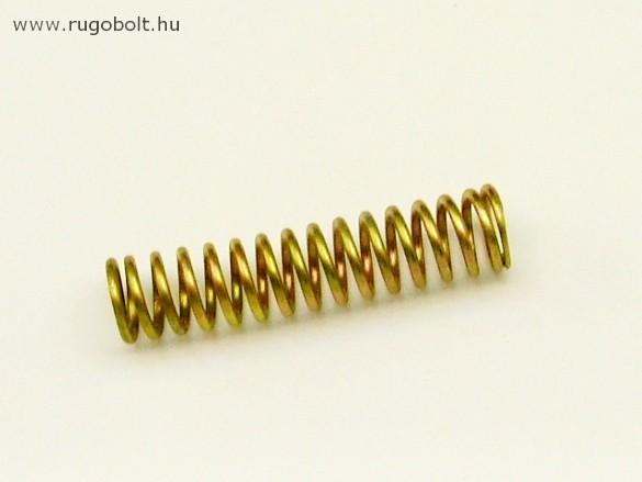 Nyomórugó - 1,5x11,5x50 mm - menetszám: 1+13+1 - horganyzott
