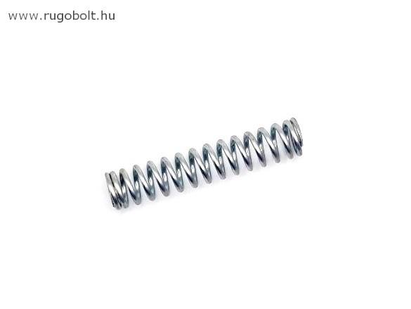 Nyomórugó - 1,5x11,5x53 mm - menetszám: 1+13+1 - horganyzott