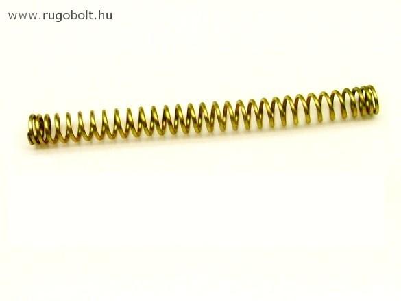 Nyomórugó - 1,5x11,5x125 mm - menetszám: 1+29+1 - horganyzott