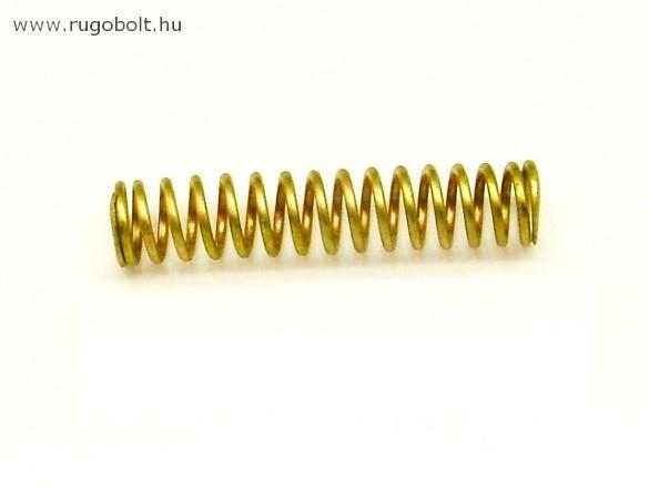 Nyomórugó - 1,5x12x82 mm - menetszám: 1+14+1 - horganyzott