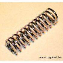 Nyomórugó - 1,5x15x48 mm - menetszám: 1+10+1 - horganyzott