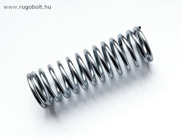 Nyomórugó - 1,5x15x49 mm - menetszám: 1+12+1 - horganyzott