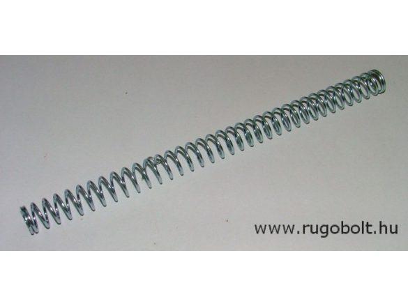 Nyomórugó - 1,5x15x220 mm - menetszám: 1+35+1 - horganyzott