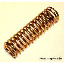 Nyomórugó - 1,5x16x56 mm - menetszám: 1+14+1 - horganyzott