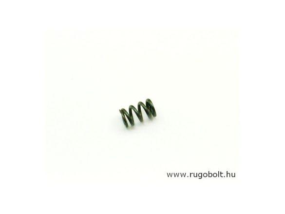 Nyomórugó - 1,6x97x15 mm - menetszám: 1+3+1 - natúr