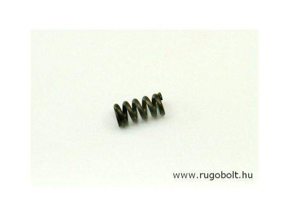 Nyomórugó - 2,0x10x19 mm - menetszám: 1+4+1 - natúr