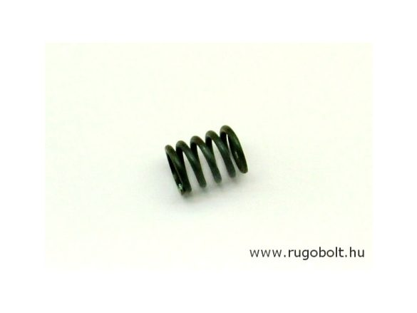 Nyomórugó - 2,0x14x18 mm - menetszám: 1+3,5+1 - natúr