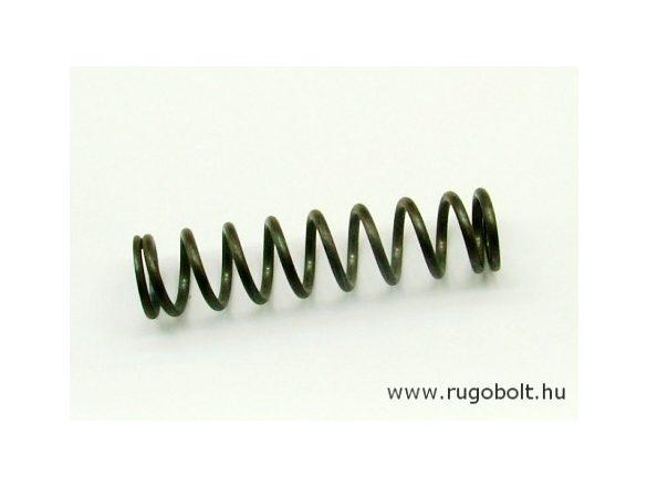 Nyomórugó - 2,0x15x60 mm - menetszám: 1+8+1 - natúr
