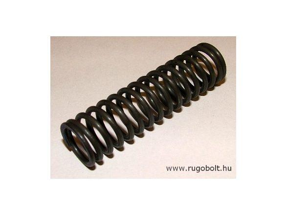 Disznókábító pisztoly rugó - 2,0x17x62 mm - menetszám: 1+14+1 - natúr