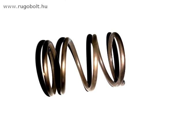 Nyomórugó - 2,0x23x28 mm - menetszám: 1+2,5+1 - natúr (balos)