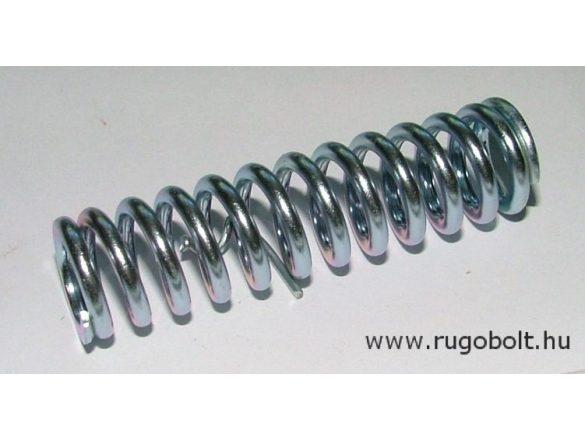 Nyomórugó - 2,5x16x60 mm - menetszám: 1+11+1 - horganyzott