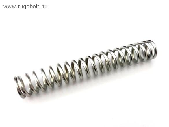 Nyomórugó - 2,5x17x107 mm - menetszám: 1+18+1 - horganyzott