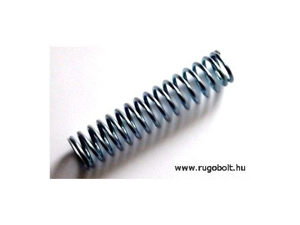 Nyomórugó - 2,5x22x100 mm - menetszám: 1+15+1 - horganyzott
