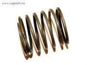 Fűkasza damil adagoló nyomórugó - 2,5x35x40 mm - menetszám: 1+4+1 - natúr
