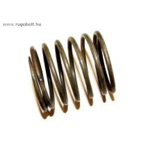 Fűkasza damil adagoló rugó - 2,5x35x40 mm - menetszám: 1+4+1 - natúr