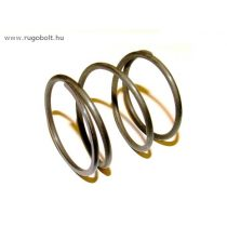 Fűkasza damil adagoló rugó - 2,5x37x37 mm - menetszám: 1+2+1 - natúr