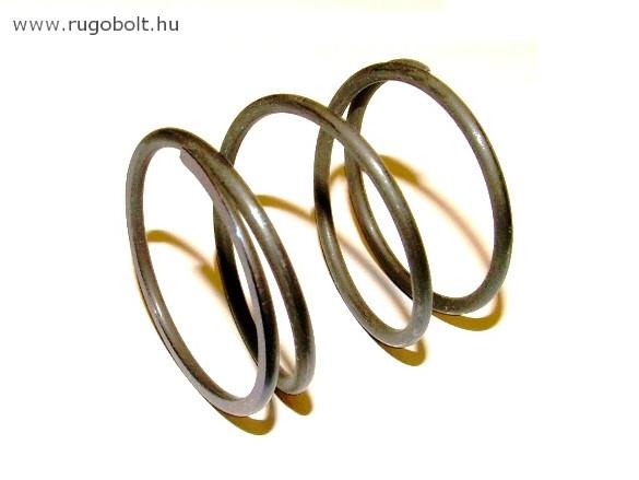 Fűkasza damil adagoló nyomórugó - 2,5x37x37 mm - menetszám: 1+2+1 - natúr