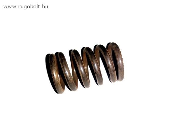 Nyomórugó - 2,8x19,5x30 mm - menetszám: 1+4+1 - natúr