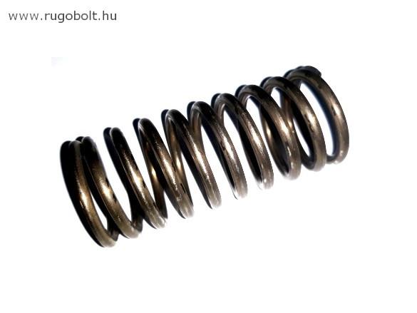 Nyomórugó - 2,8x26,5x60 mm - menetszám: 1+8+1 - natúr