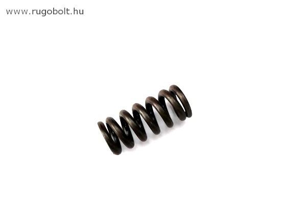 Légpuska rugó - 3,0x18,5x196 mm - menetszám: 1+24,5+1 - natúr