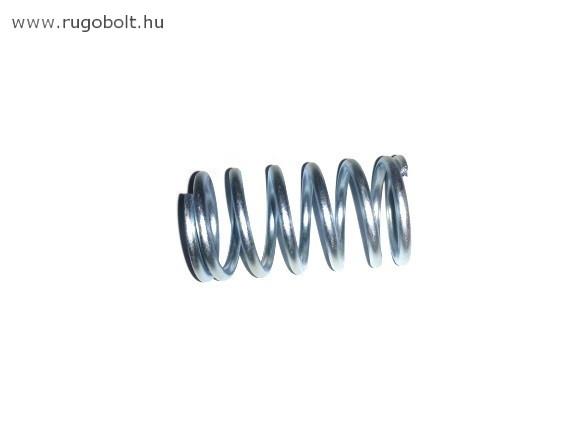 Nyomórugó  - 3,0x28x50 mm - menetszám: 1+5+1 - horganyzott