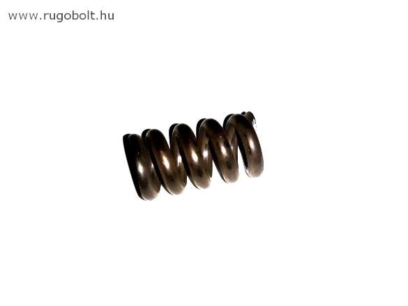 Nyomórugó - 3,5x15,5x27 mm - menetszám: 1+3,5+1 - natúr