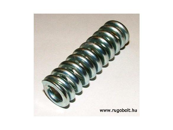 Nyomórugó - 3,5X18X60 mm - menetszám: 1+9+1 - horganyzott