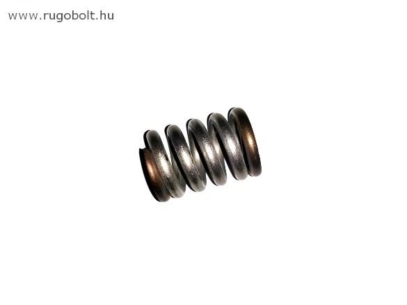 Nyomórugó - 3,5x19,6x28 mm - menetszám: 1+3,5+1 - rozsdamentes (inox)