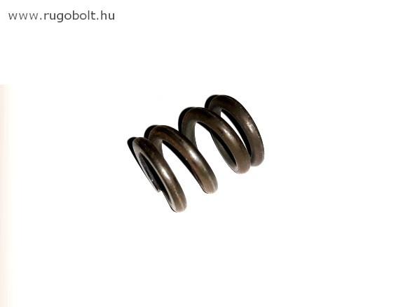 Nyomórugó - 3,5x21x25 mm - menetszám: 1+2+1 - natúr
