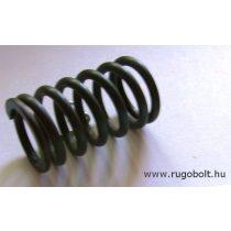 MTZ rugó - 3,5x27x45 mm - menetszám: 1+5+1 - natúr
