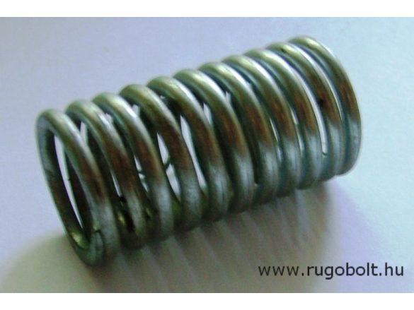 Nyomórugó - 3,5x28x50 mm - menetszám: 1+9+1 - horganyzott
