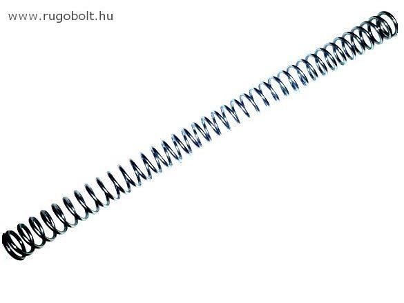 Nyomórugó - 3,5x32x450 mm - menetszám: 1+37+1 - horganyzott
