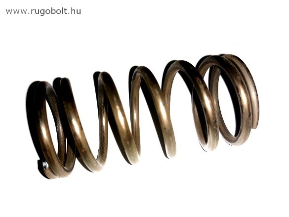 Nyomórugó - 3,5x34x67 mm - menetszám: 1+5+1 - natúr
