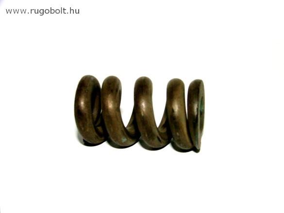 Nyomórugó - 5,0x19,5x33 mm - menetszám: 1+3+1 - natúr