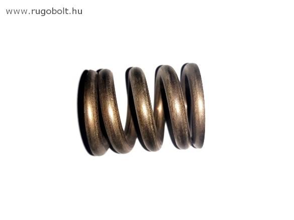 Nyomórugó - 5,0x30x35 mm - menetszám: 1+2,5+1 - rozsdamentes (inox)