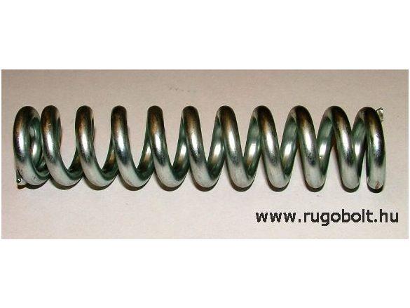 Nyomórugó - 5,5x27x123 mm - menetszám: 1+9,5+1 - horganyzott