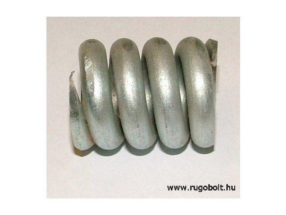 Nyomórugó - 7,0x29x35 mm - menetszám: 1+2+1 - horganyzott