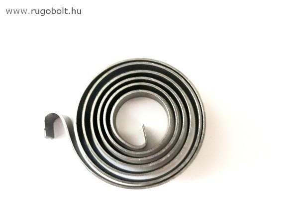 Asztali fúrógép visszahúzó rugó (spirálrugó) - 1,0x60x10 mm - natúr