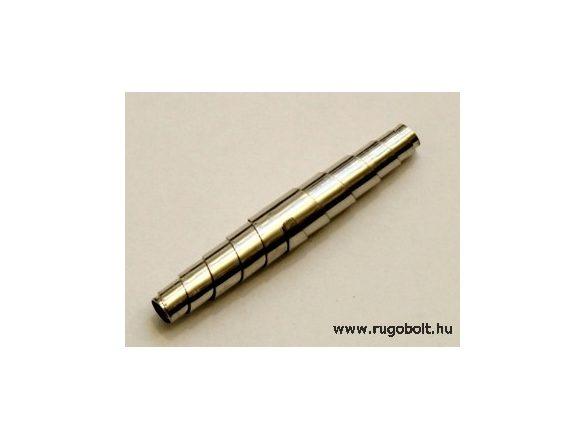 Metszőolló rugó (hernyó) - 57 mm - horganyzott